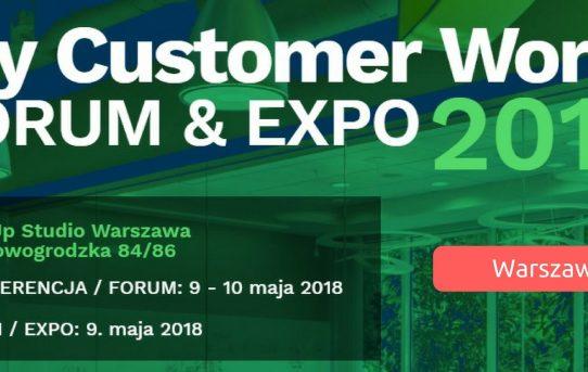 My Customer World 2018 - wydarzenie dla branży Customer Service