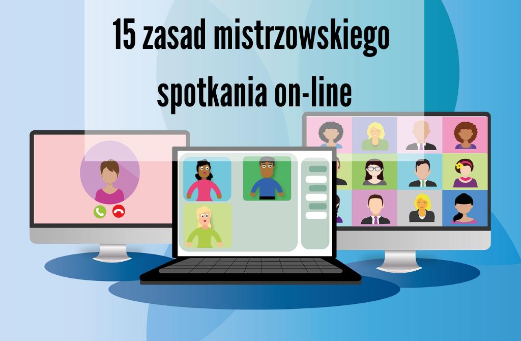 zasady spotkań on-line